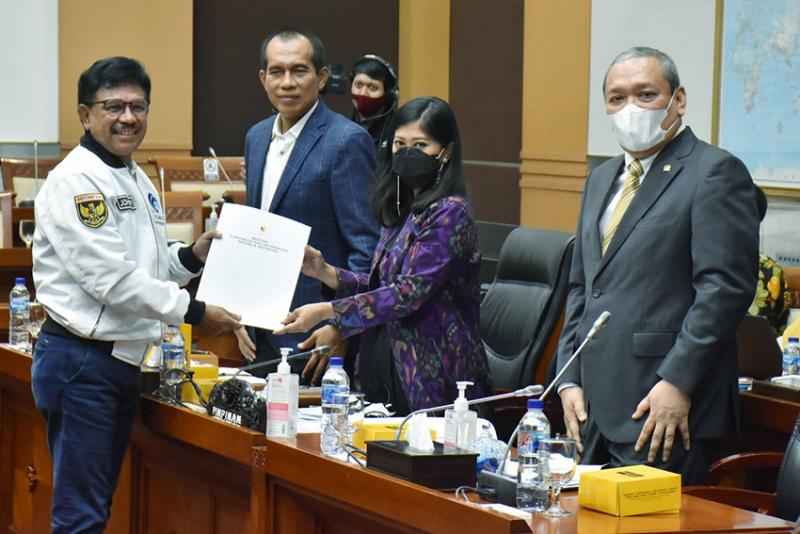 Pemerintah Apresiasi Dpr Terhadap Ruu Pdp Komite